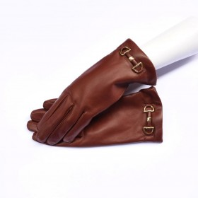 Kidskin leather gloves...