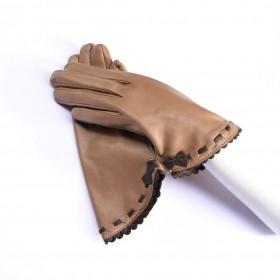 Kidskin leather gloves...