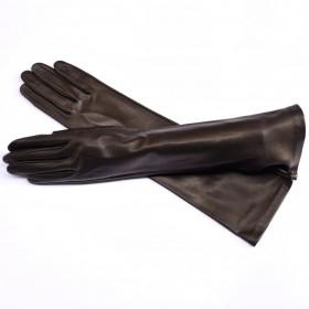Kidskin leather gloves 8...