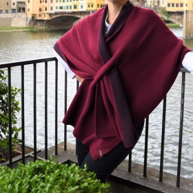 Firenze Reversible Poncho