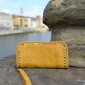 Peonia Leather Wallet