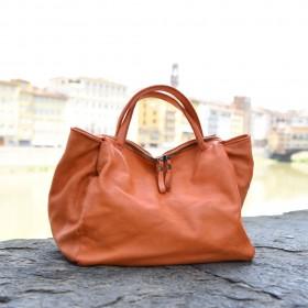Genziana Leather Bag