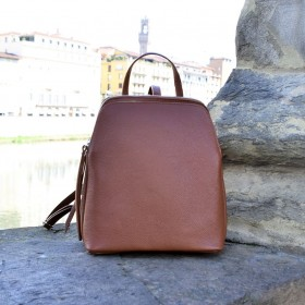 Micol Leather Backpack