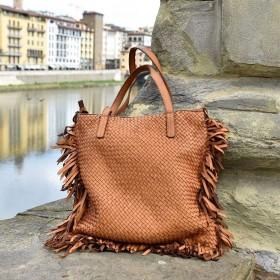 Lime Leather Bag