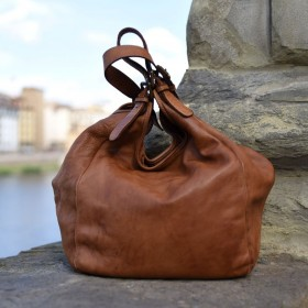 Menta Leather Bag