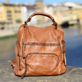Mimosa Leather Backpack