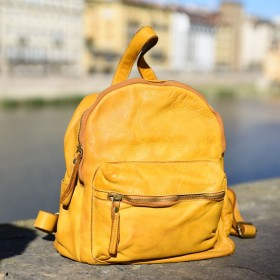 Papavero Leather Backpack