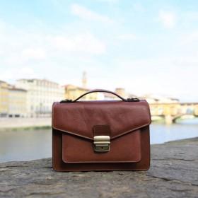 Foscolo Leather Handbag