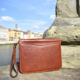 Giotto Leather Hand Bag
