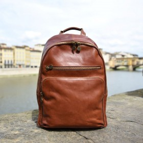 Petrarca Leather Backpack