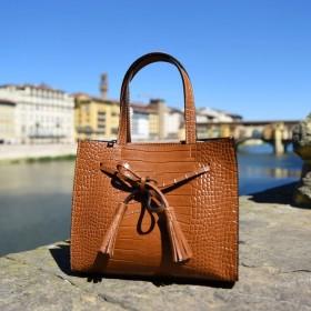 Cinzia Leather Handbag
