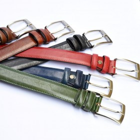 Gioele Leather Belt