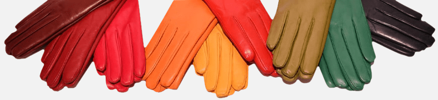 Leather Gloves Made in Italy.