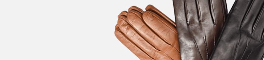 Men's Leather Gloves.